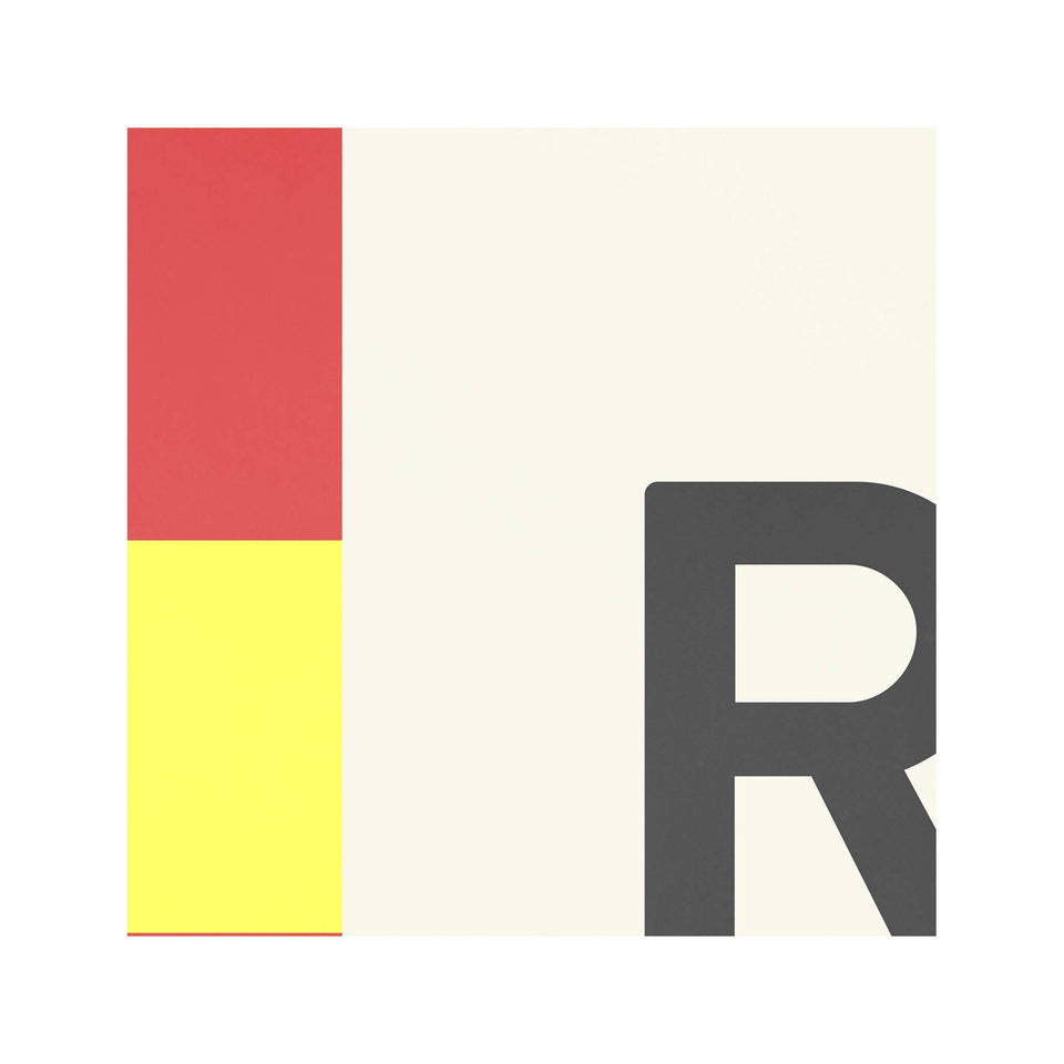 LETTER R - Navy Signal Print - Foundry