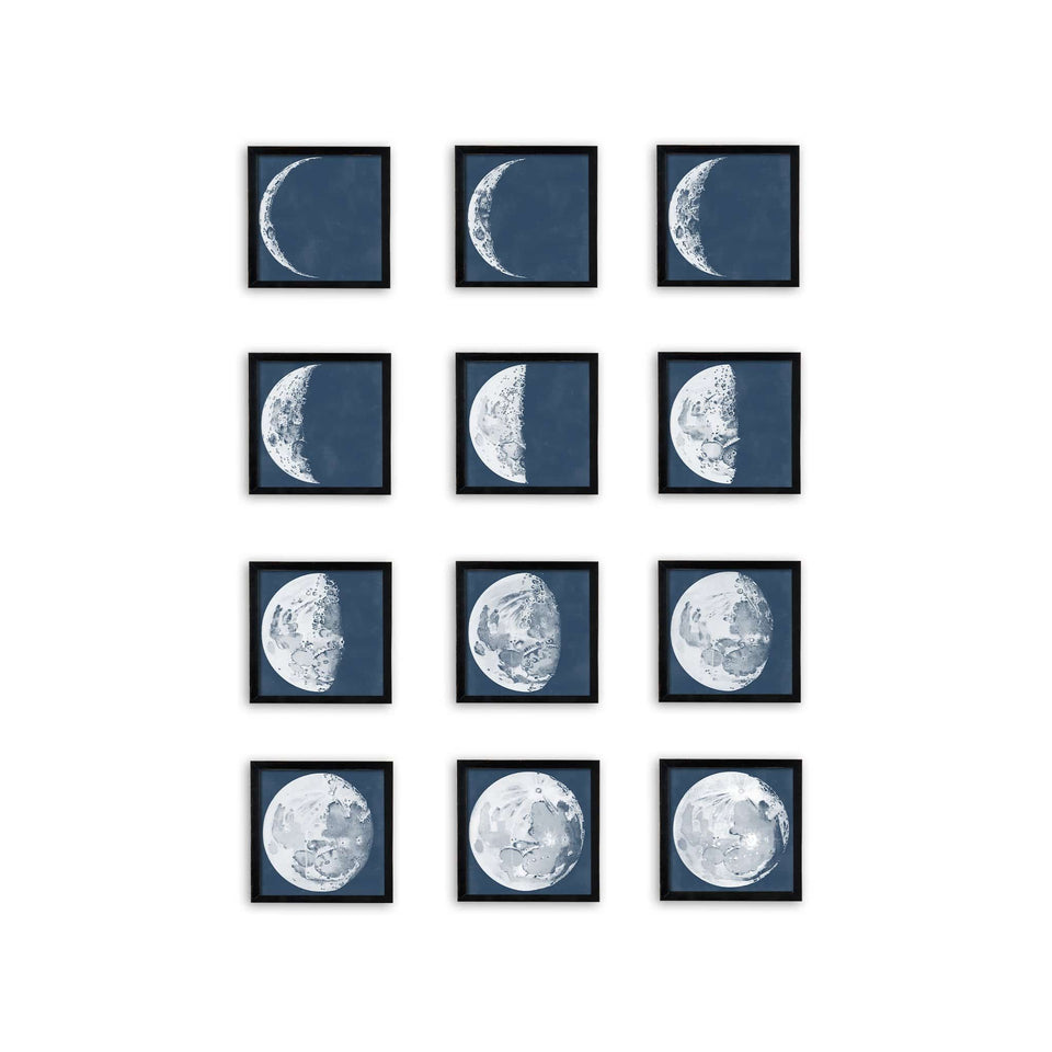 LUNAR PHASES ILLUSTRATION Collection - Foundry