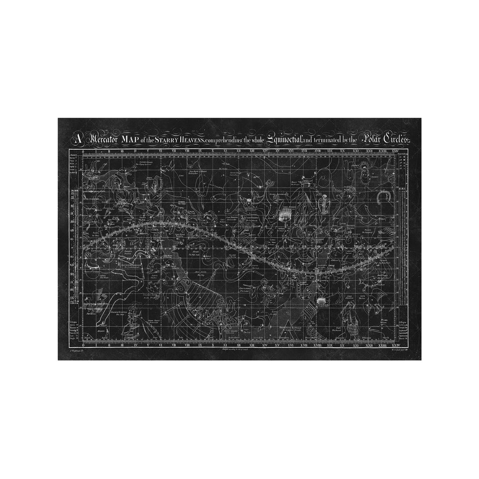 MAP of the STARRY HEAVENS - Foundry