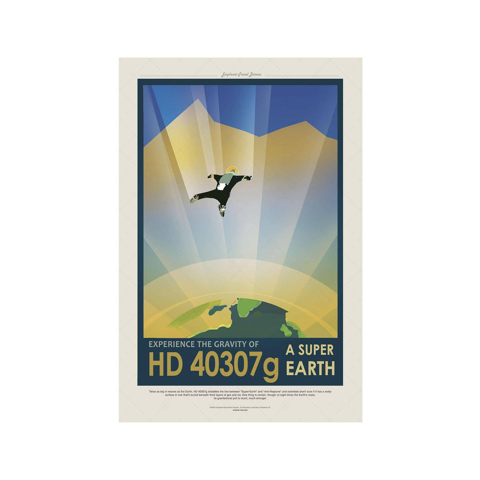 NASA Exoplanet Art - HD 40307g - A SUPER EARTH - Foundry