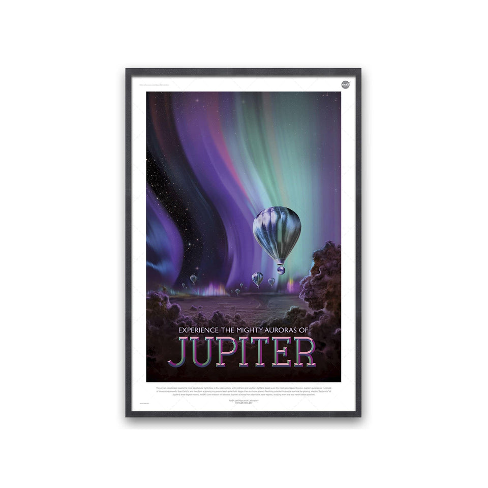NASA Exoplanet Art - JUPITER Travel Poster