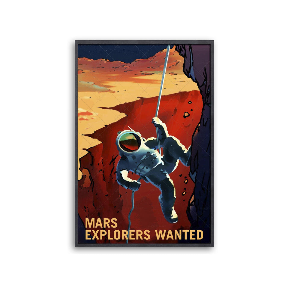 NASA Recruitment Poster - EXPLORERS WANTED