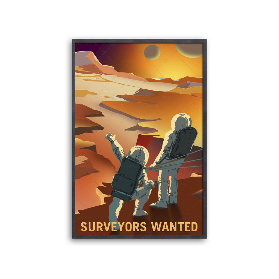 NASA Recruitment Poster - SURVEYORS WANTED