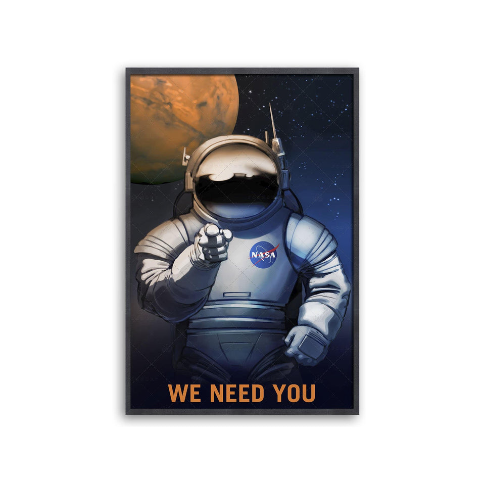 NASA Recruitment Poster - WE NEED YOU