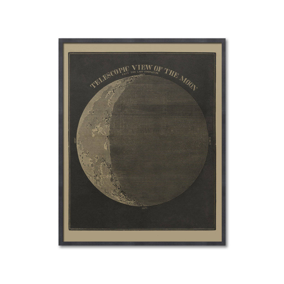 TELESCOPIC VIEWS of the MOON, Circa 1850s - The Moon - Foundry