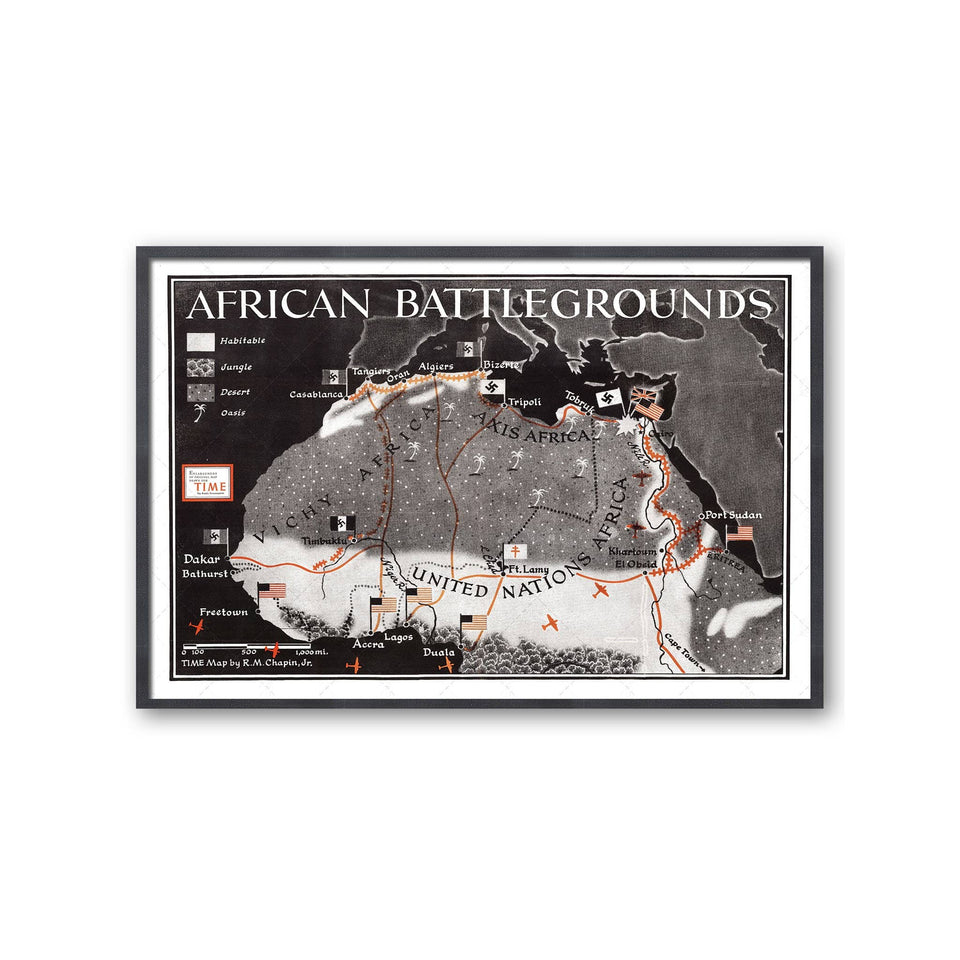 TIME Magazine's AFRICAN BATTLEGROUNDS