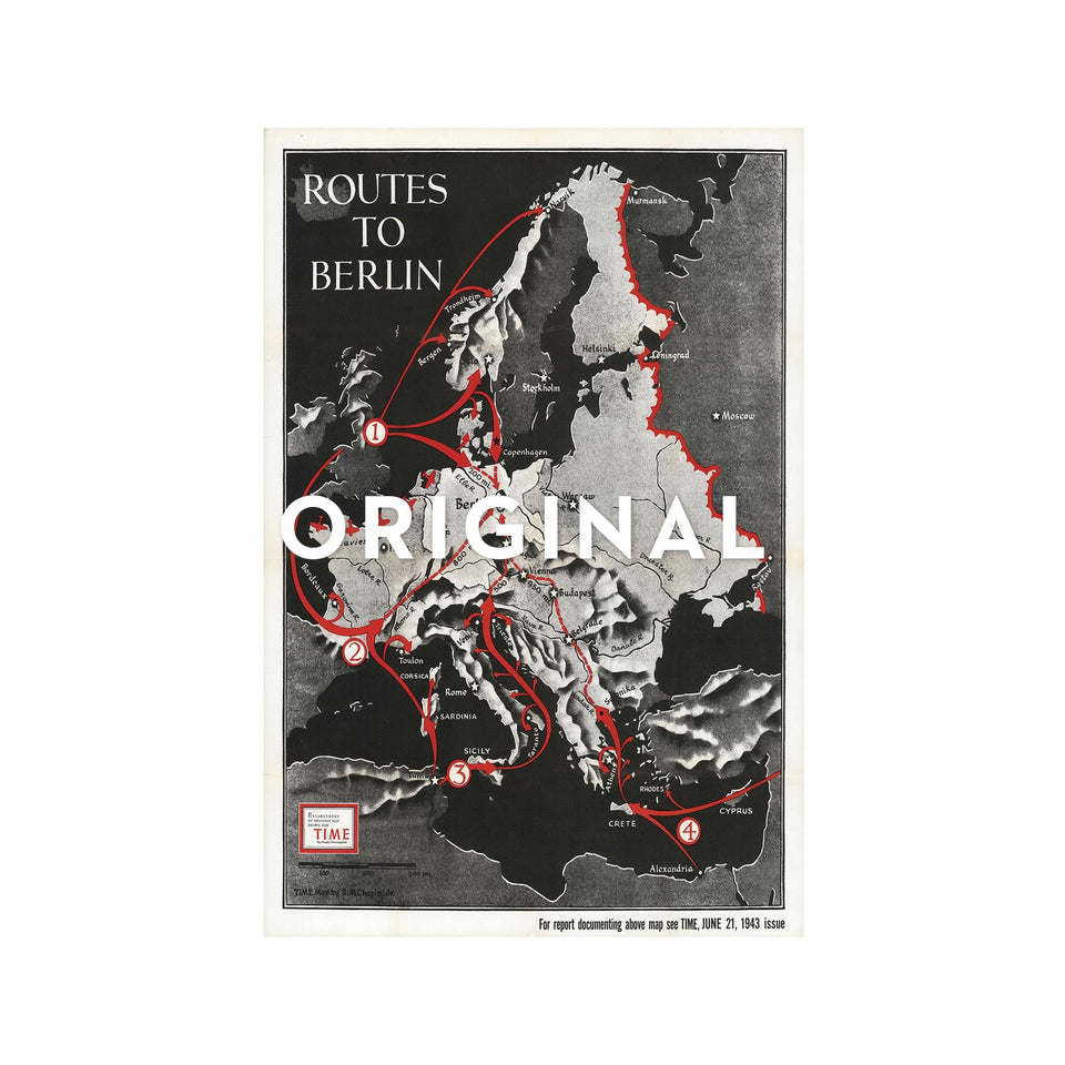 TIME Magazine's ROUTES TO BERLIN - Foundry