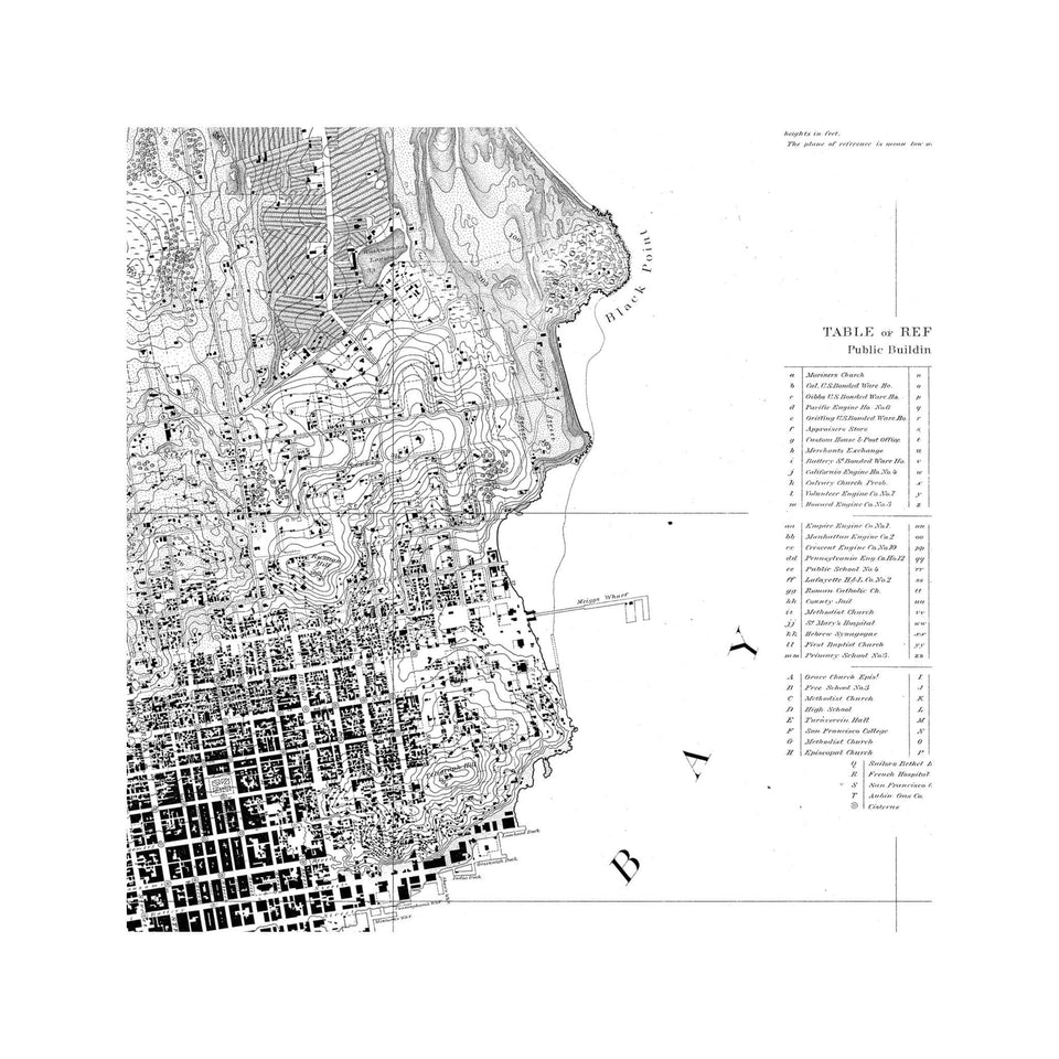 U.S. Coast Survey - SAN FRANCISCO & VICINITY