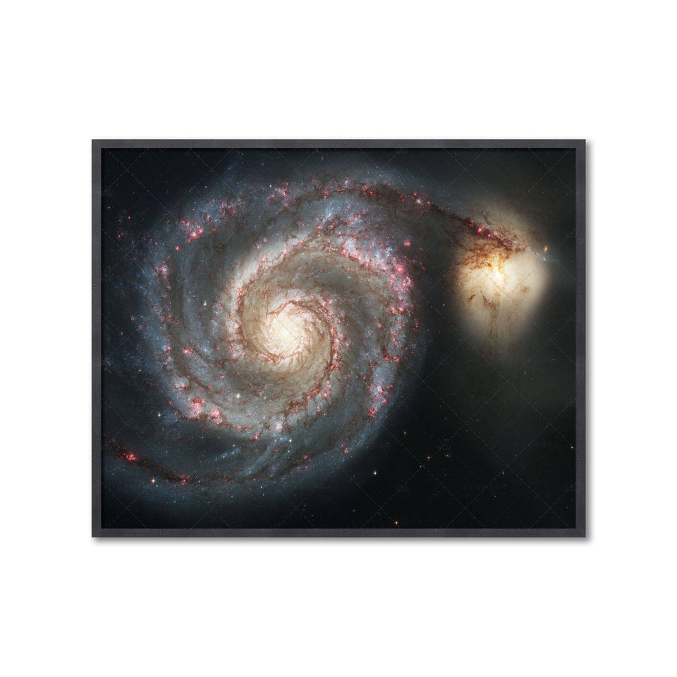 WHIRLPOOL GALAXY Photograph - Foundry