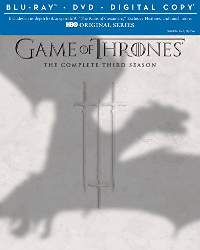 Game of Thrones: Season 3 (Blu-ray/DVD Combo + Digital Copy)