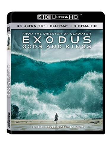 Exodus: Gods and Kings 4k Ultra Hd [Blu-ray]