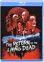 Return of The Living Dead Blu-ray w/ Halloween Fp
