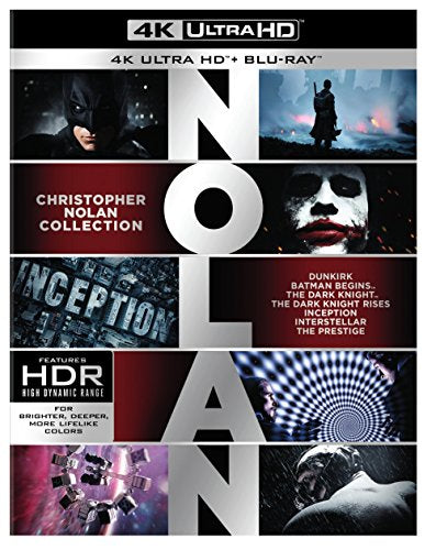 Christopher Nolan 4K Collection (4K Ultra HD) [Blu-ray]