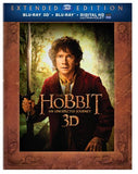 The Hobbit: An Unexpected Journey (Extended Edition) (Blu-ray 3D + Blu-ray)