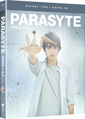 Parasyte: Parts One & Two - Live Action (Blu-ray/DVD Combo)