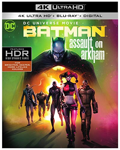 Batman: Assault on Arkham (4K Ultra HD/Blu-ray/Digital)