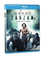 The Legend of Tarzan (Blu-ray 3D + Blu-ray + DVD + Digital HD + UltraViolet Combo Pack)