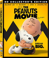 Peanuts Movie, The Blu-ray 3d