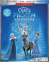 OLAF'S FROZEN ADVENTURE PLUS 6 DISNEY TALES (EXTENDED HOME VIDEO EDITION) [Blu-ray]