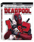 Deadpool 1+2 2pk Uhd+dhd [Blu-ray]