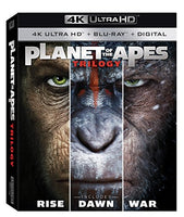 Planet of the Apes 1-3 Trilogy [Blu-ray]
