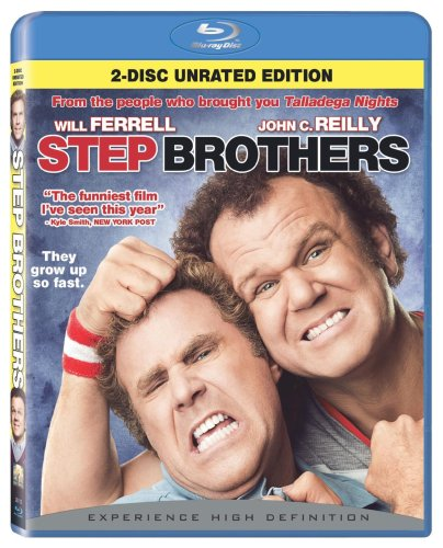 Step Brothers (Rated/Unrated) [Blu-ray]