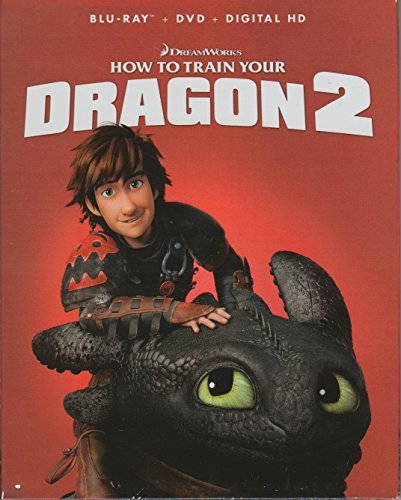 How To Train Your Dragon 2 (Blu-ray + DVD + Digital HD))