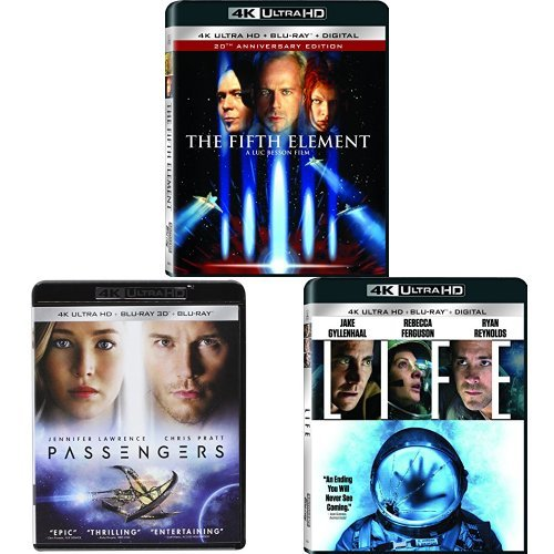 Fifth Element + Passengers (2016)(3D) + Life