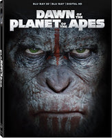 Dawn of the Planet of the Apes Blu-ray 3d