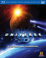 The Universe In 3D: A Whole New Dimension [Blu-ray]