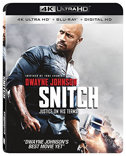 Snitch 4K Ultra HD [Blu-ray + Digital HD]