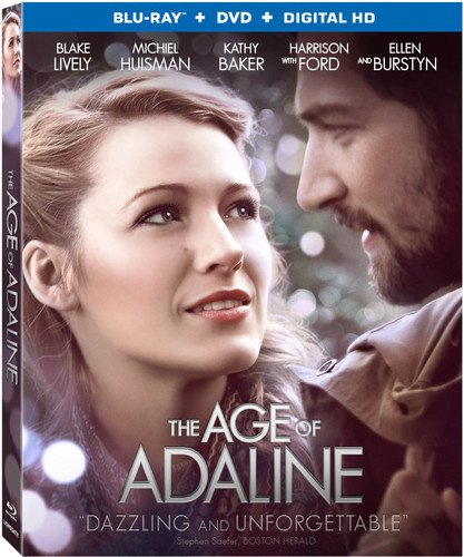 The Age Of Adaline [Blu-ray + DVD + Digital HD]