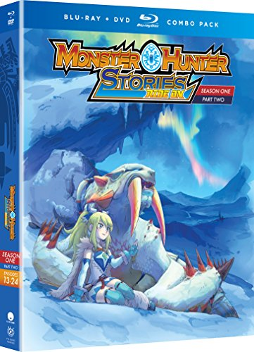 Monster Hunter Stories Ride On: Season One, Part Two (Blu-ray/DVD Combo)