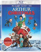 Arthur Christmas (Three Discs: Blu-ray 3D / Blu-ray / DVD + UltraViolet Digital Copy)