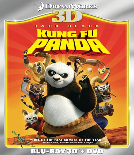 Kung Fu Panda (Two-Disc Blu-ray 3D/DVD Combo)