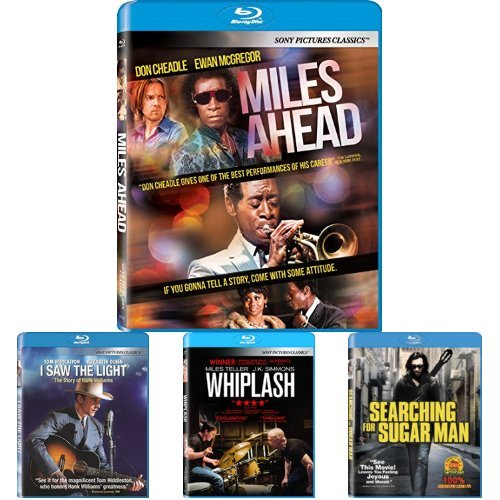 Miles Ahead + I saw The Light + Whiplash + Searching for Sugar Man