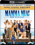 Mamma Mia! Here We Go Again [Blu-ray]