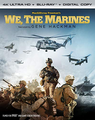 We, The Marines 4K ULTRA HD + BLU-