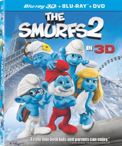 The Smurfs 2 (Three-Disc Combo: Blu-ray 3D / Blu-ray / DVD + UltraViolet Digital Copy)