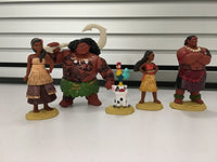 Moana Disney'S Figure Set Toy Figure