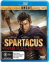Spartacus War of the Damned Season 3 Blu-ray [Uncut]