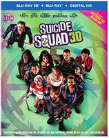 Suicide Squad (3D + Blu-ray + Digital HD + UltraViolet Combo Pack)