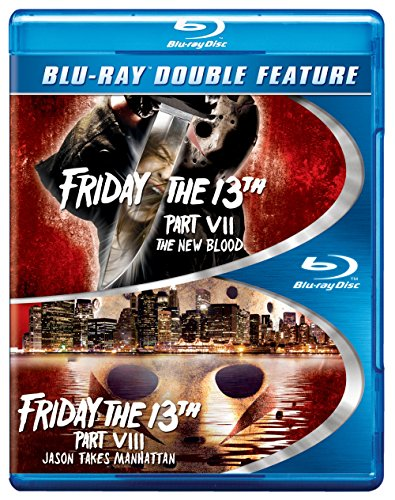 Friday the 13th Part VII/Friday the 13th Part VIII (BD) (DBFE) [Blu-ray]