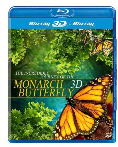 Incredible Journey of the Monarch Butterfly 3d [Blu-ray]