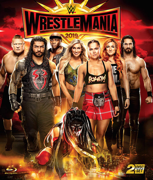 WWE: WrestleMania 35 (Blu-ray)