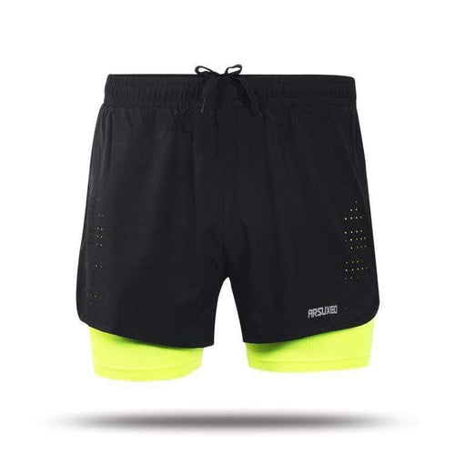 2 In 1 Compression Training Shorts - HIIT gear