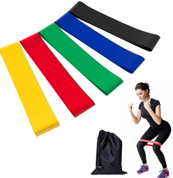 5pcs Resistance Bands HIIT Set - HIIT gear