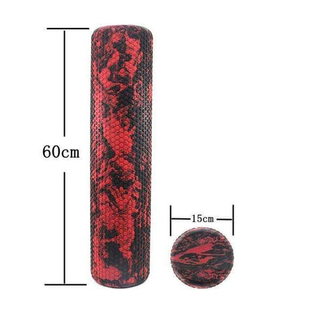 60cm Massage Foam Roller + GRATIS Massage Rubber Ball - HIIT gear