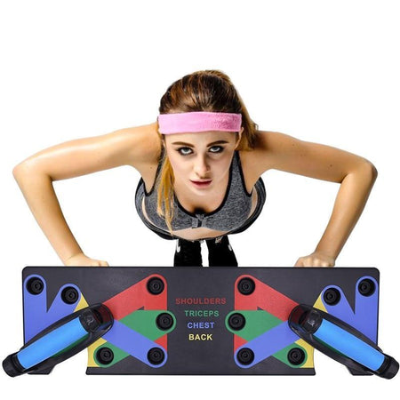 9 in 1 Push Up Board - HIIT gear