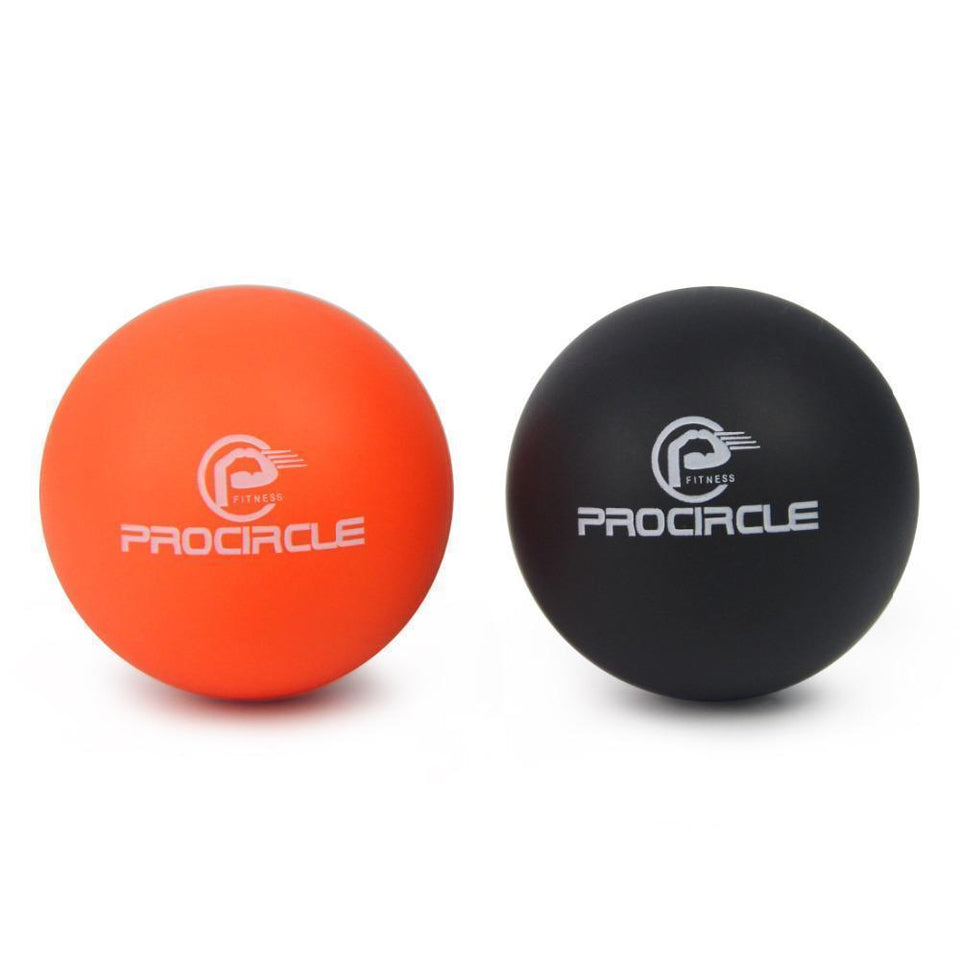 Comprehensive Fitness Exercise Lacrosse Balls Deep Tissue Massager + FREE Bag - HIIT gear